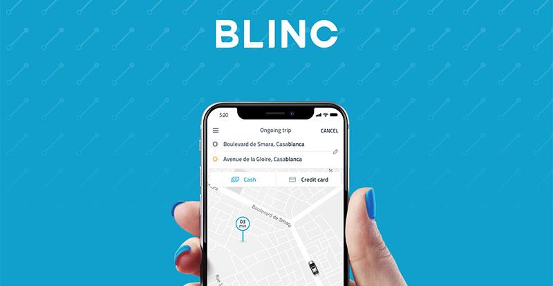 Actu. nationale - « Blinc » est le premier service en ligne de VTC 100% marocain