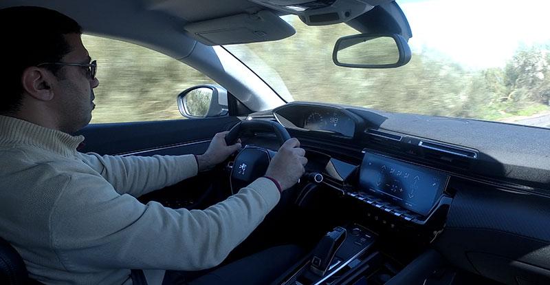 Une expérience de conduite marquante que promet la nouvelle PEUGEOT 508