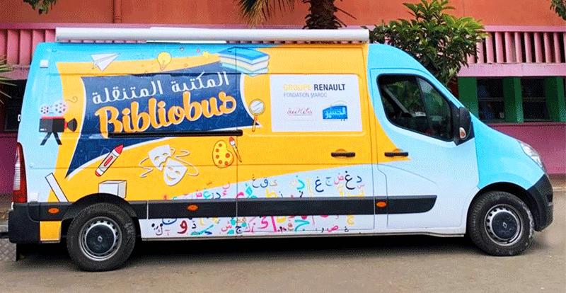 Un Renault Master fera le tour des écoles publiques dans la région de Casablanca