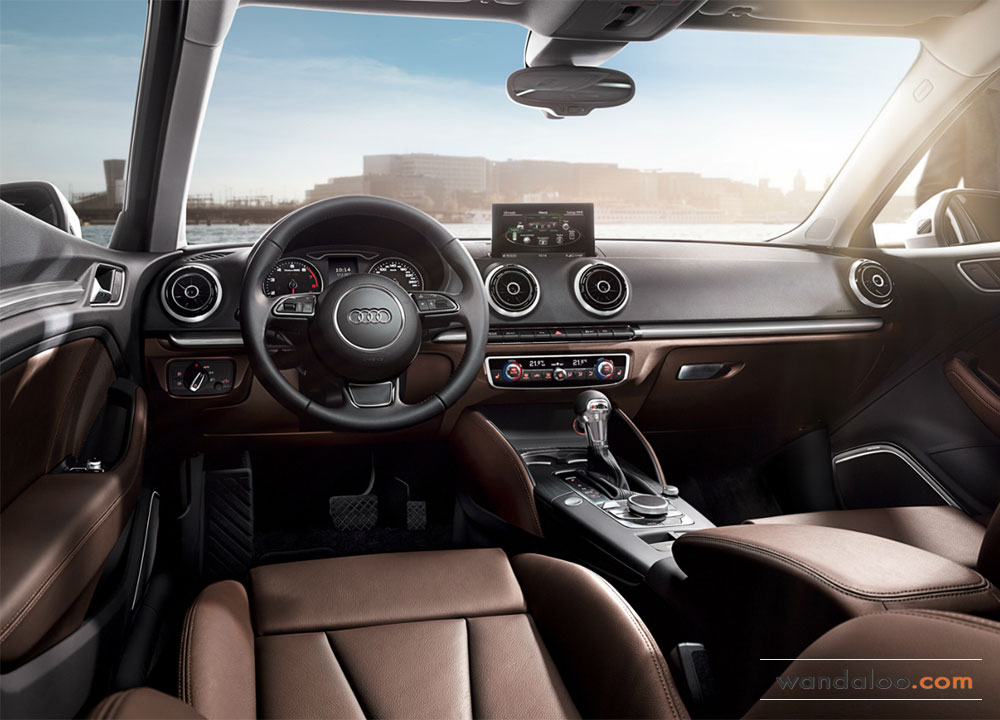 Audi a3 sportback photos audi a3 sportback maroc for Interieur q3 s line
