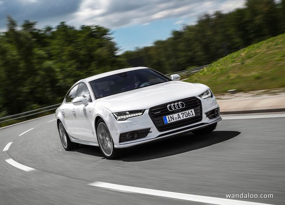 Audi A7 Sportback En Photos Hd Wandaloo Com