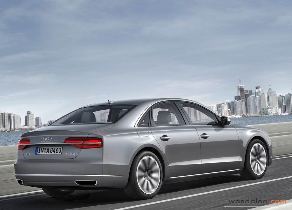Audi A8 En Photos Hd Wandaloo Com