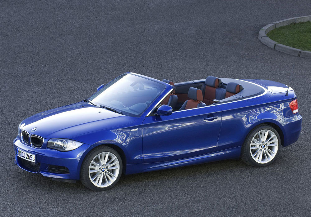 bmw s rie 1 cabriolet en photos hd. Black Bedroom Furniture Sets. Home Design Ideas