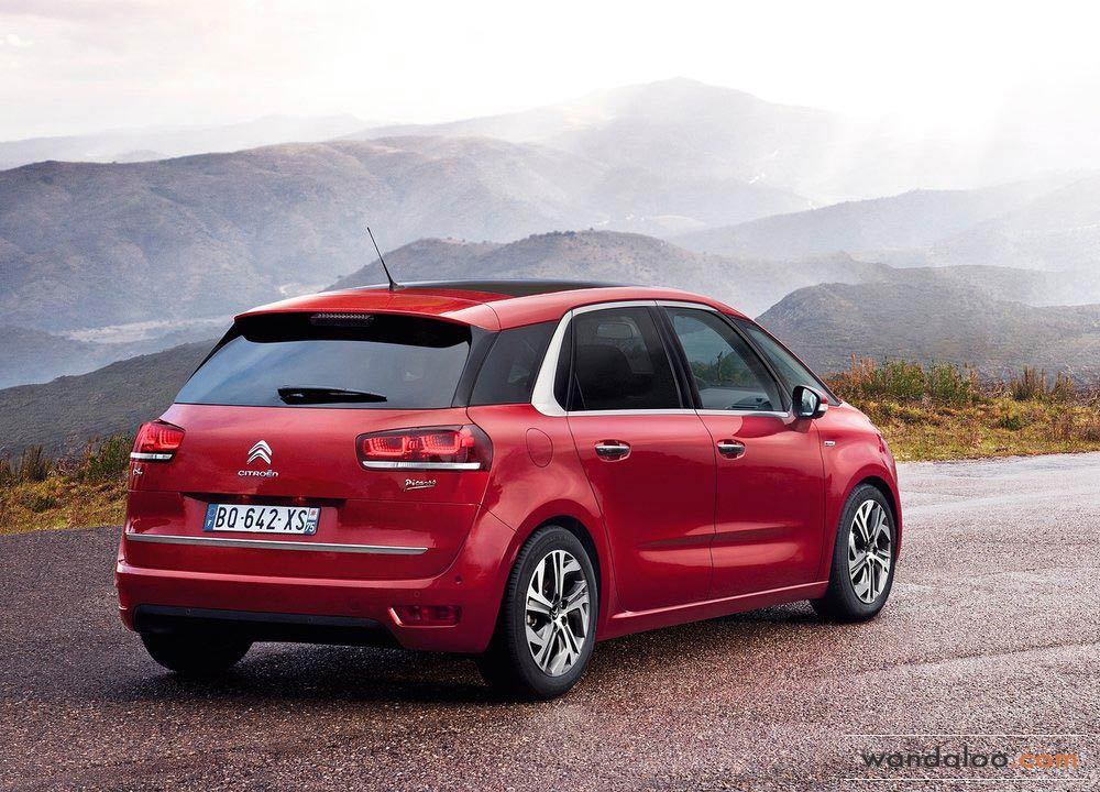 citroen c4 picasso en photos hd. Black Bedroom Furniture Sets. Home Design Ideas