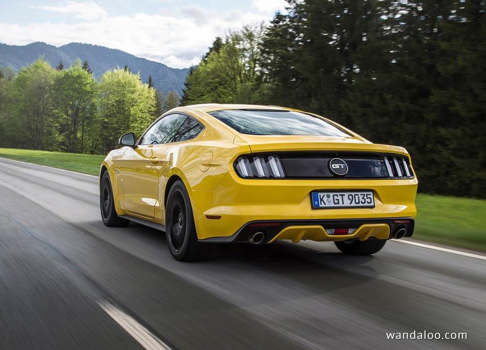 Ford Mustang 2015 En Photos Hd Wandaloo Com