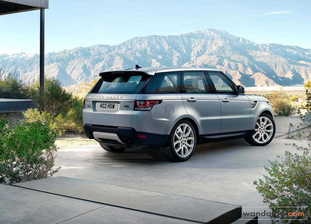 land rover range rover sport en photos hd. Black Bedroom Furniture Sets. Home Design Ideas