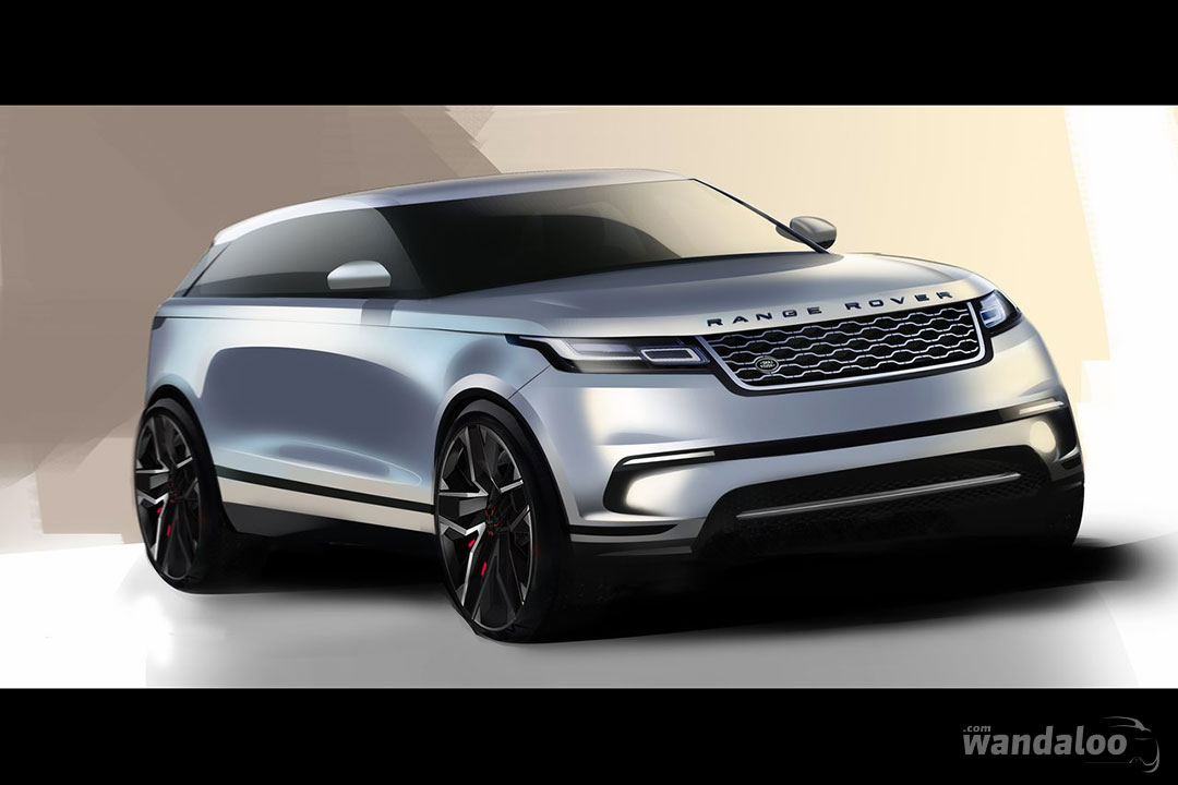 land rover range rover velar en photos hd. Black Bedroom Furniture Sets. Home Design Ideas