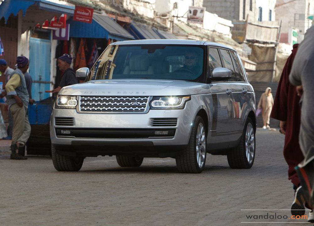 Land Rover Range Rover En Photos Hd Wandaloo Com