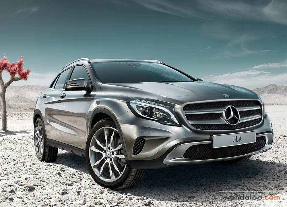 mercedes gla en photos hd. Black Bedroom Furniture Sets. Home Design Ideas