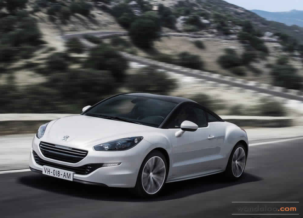 peugeot rcz en photos hd. Black Bedroom Furniture Sets. Home Design Ideas