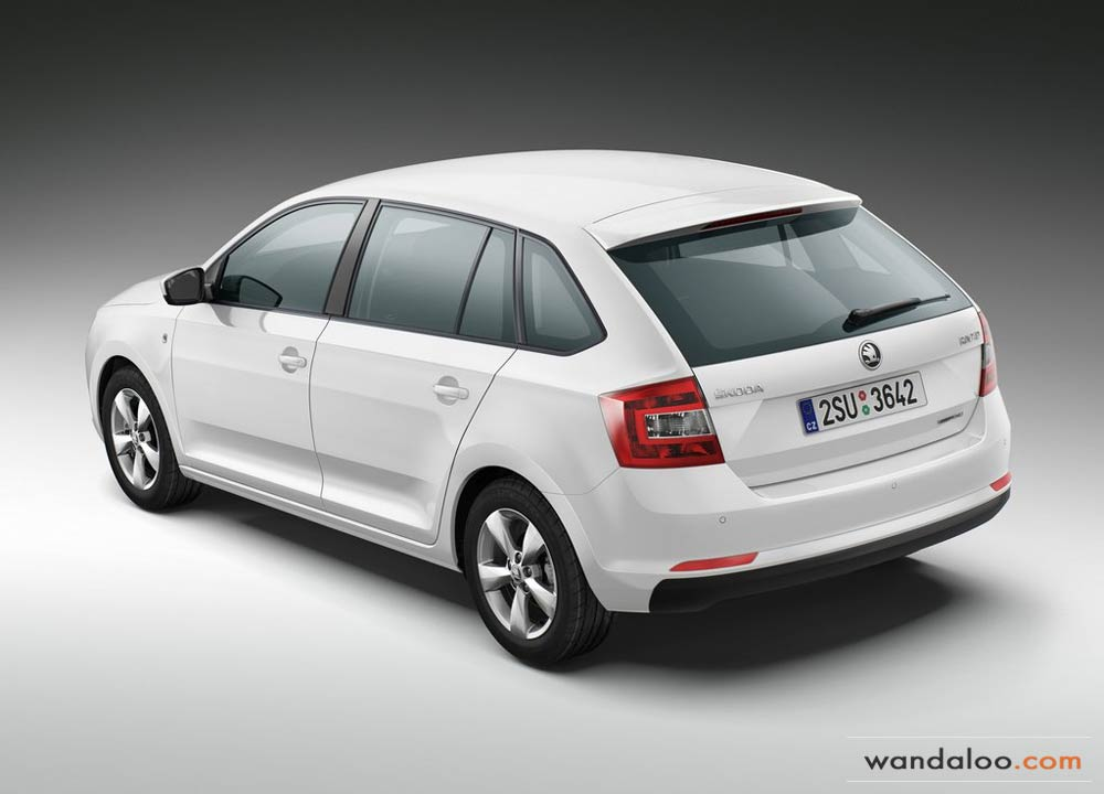 skoda rapid spaceback en photos hd. Black Bedroom Furniture Sets. Home Design Ideas