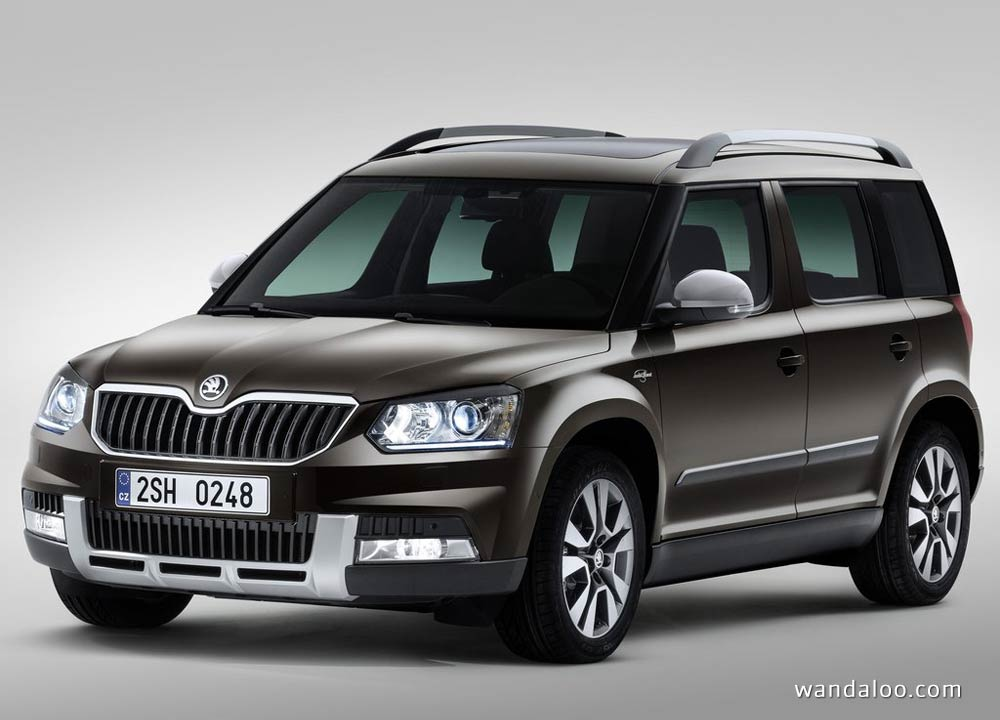 skoda yeti en photos hd. Black Bedroom Furniture Sets. Home Design Ideas