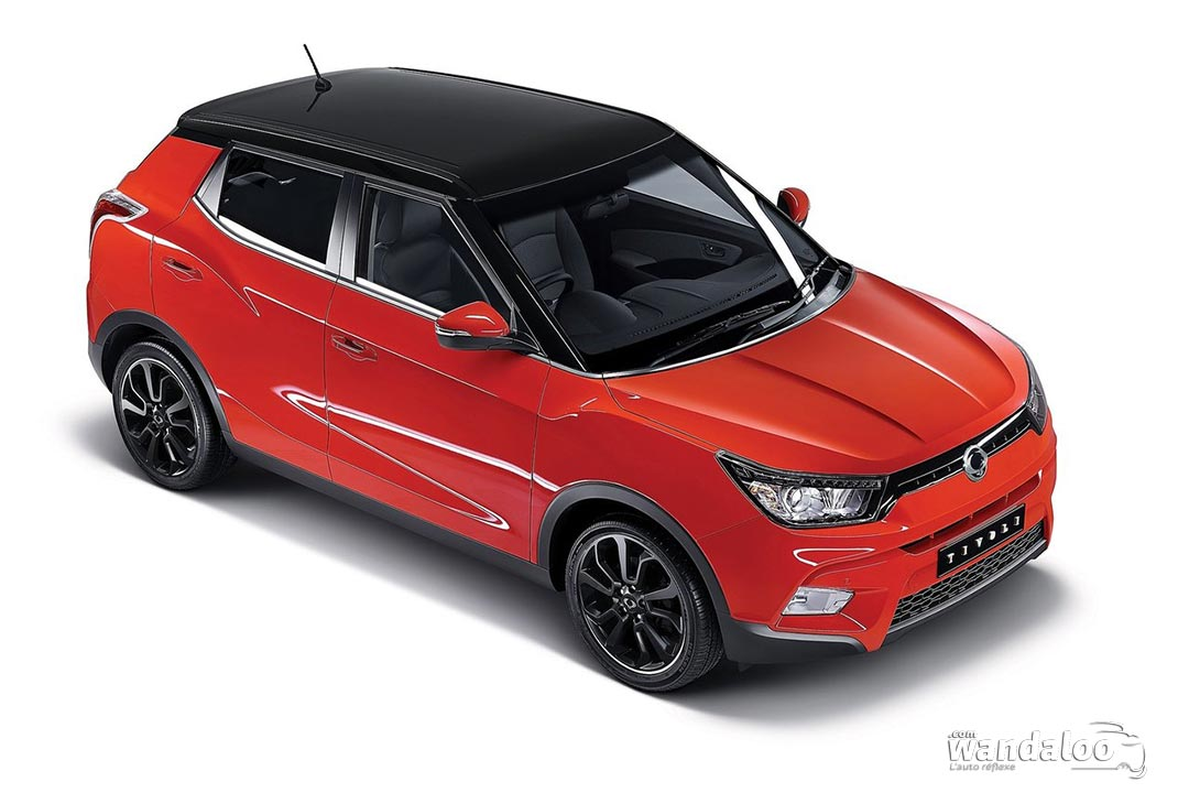 ssangyong tivoli en photos hd. Black Bedroom Furniture Sets. Home Design Ideas