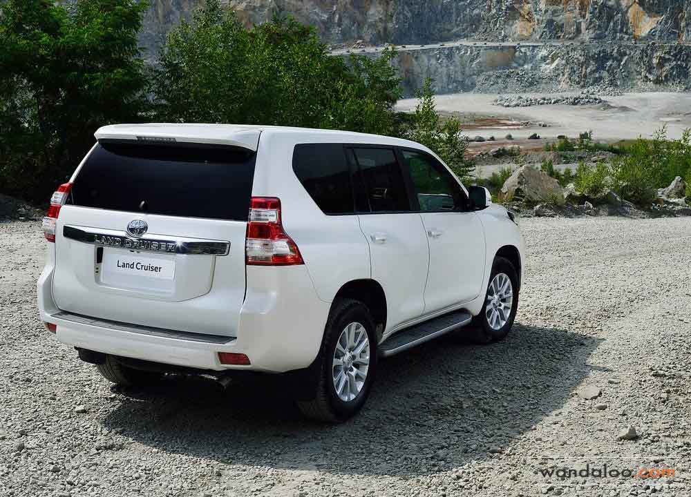 toyota land cruiser prado en photos hd. Black Bedroom Furniture Sets. Home Design Ideas