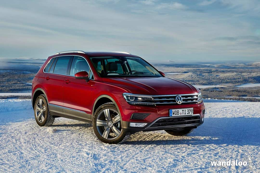 Volkswagen Tiguan En Photos Hd Wandaloo Com