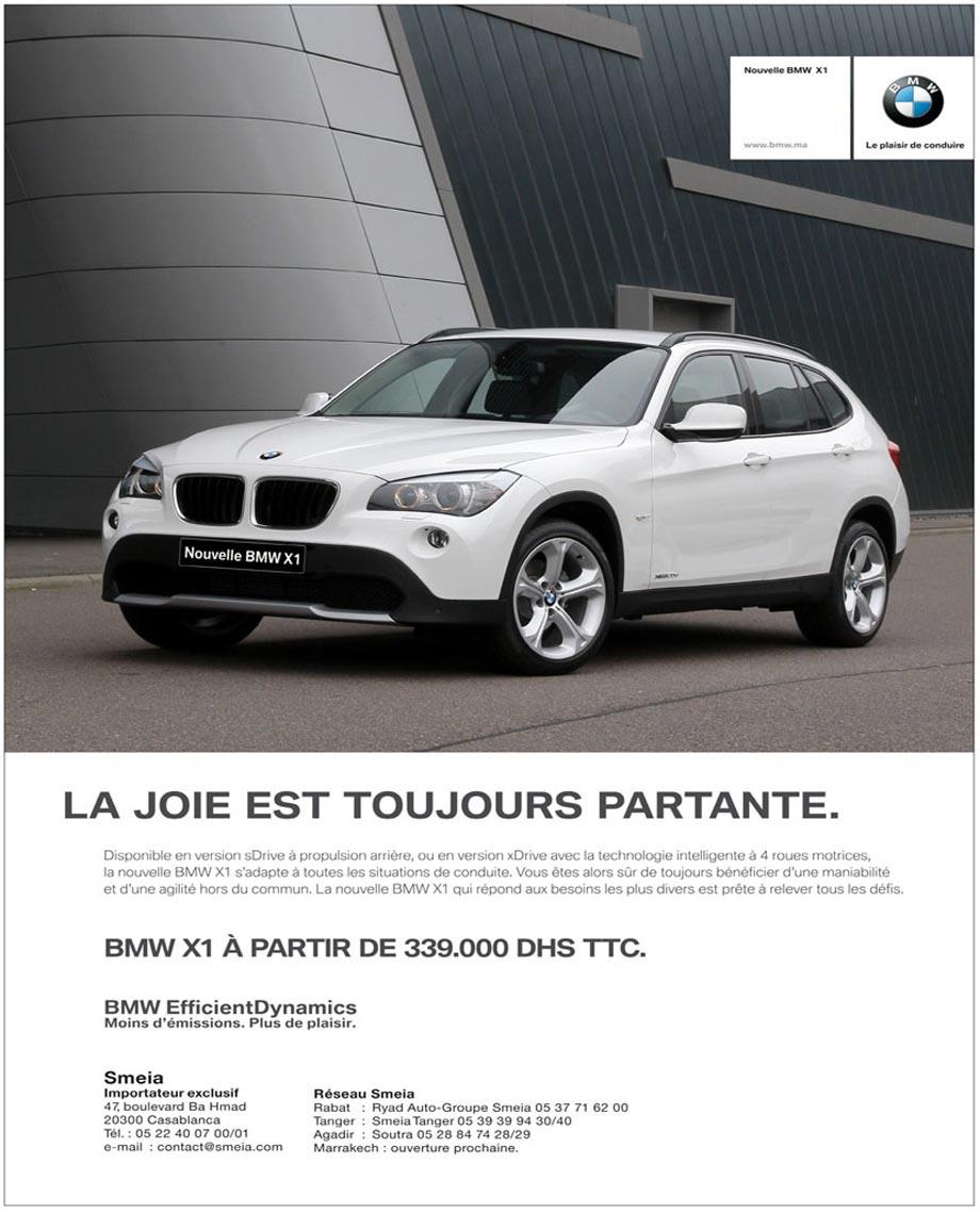 BMW X1 Neuve En Promotion Au Maroc