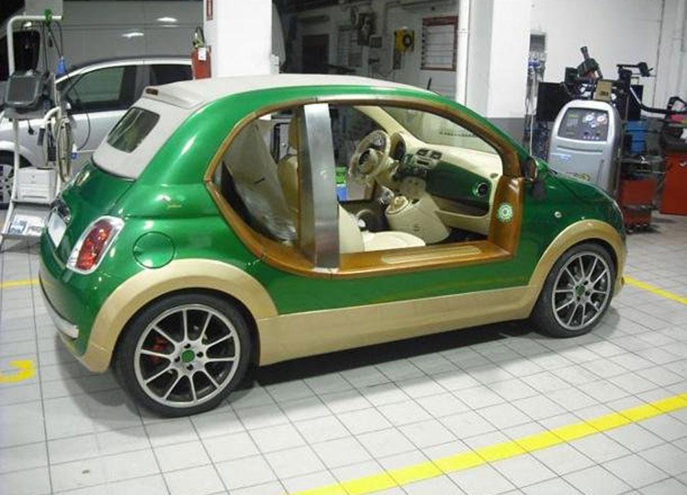 Fiat 500 de Kadhafi
