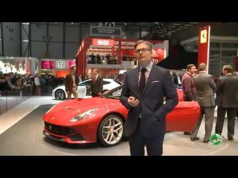 Ferrari F12 Berlinetta au mondial de Genève