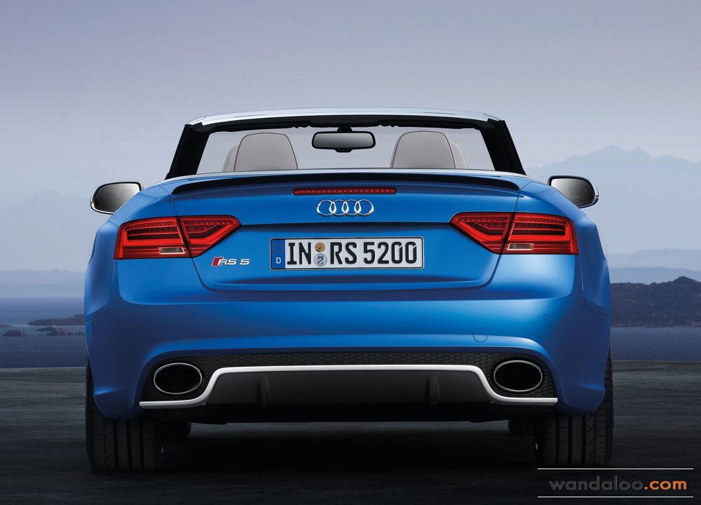 Audi Rs5 Cabriolet 2014 En Photos Hd Wandaloo Com