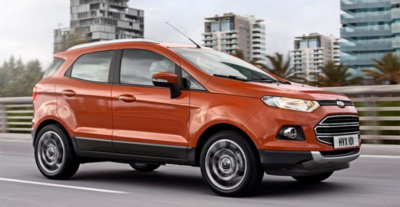 Ford EcoSport : Le smart crossover compact - wandaloo.com