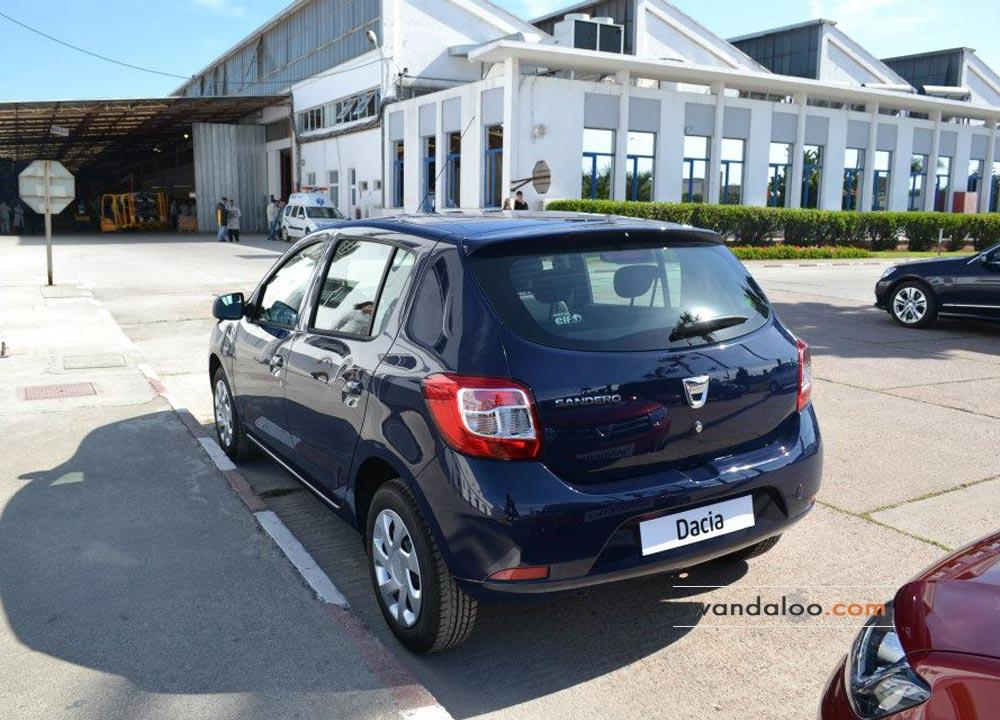 Dacia Sandero 2 à la SOMACA