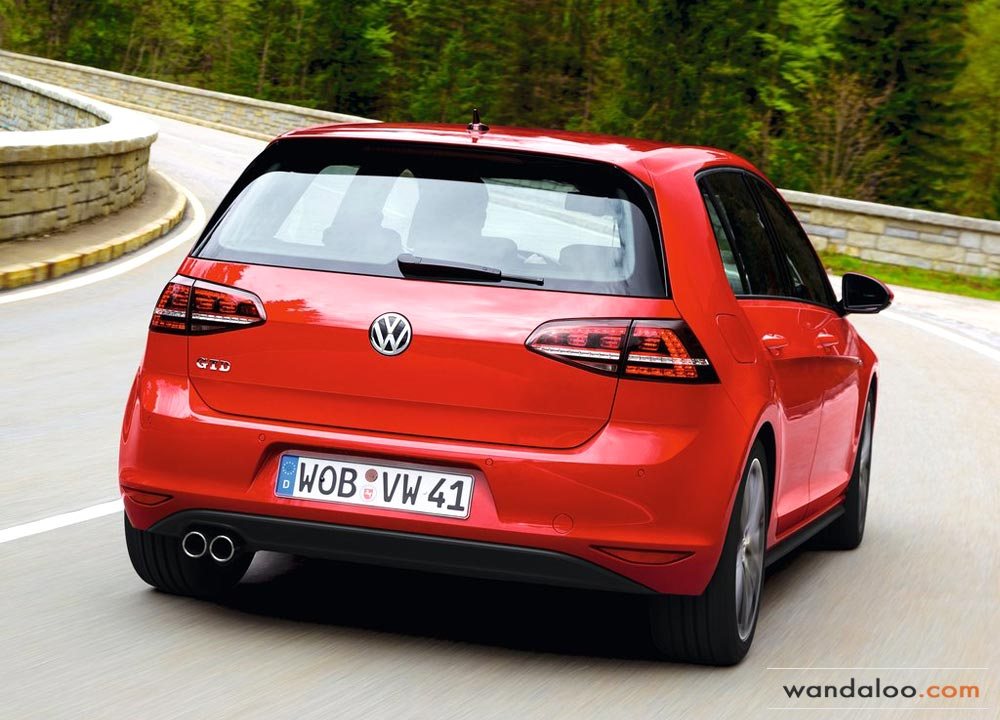 VW Golf 7 GTD en photos HD - wandaloo.com fbefab9c1