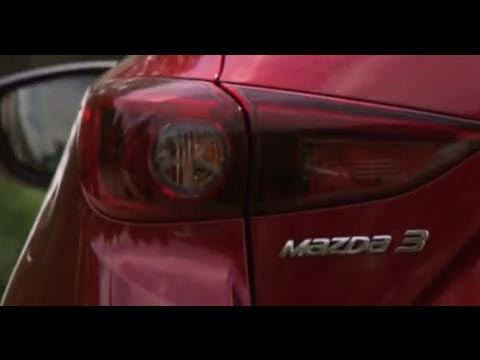 Nouvelle Mazda 3, le film officiel