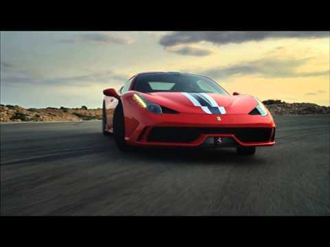 Ferrari 458 Speciale en action