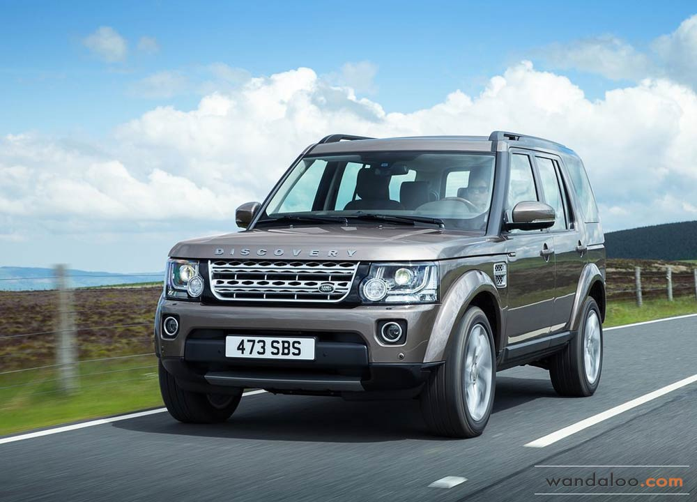 Land-Rover Discovery facelift