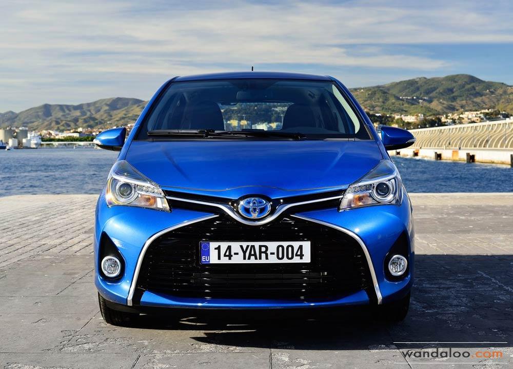 Toyota Yaris 2015 - nouvelles photos