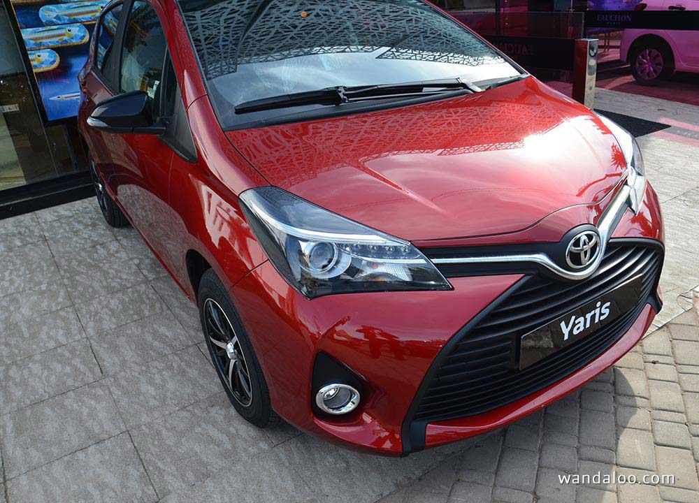 Présentation de la nouvelle Toyota Yaris 2015