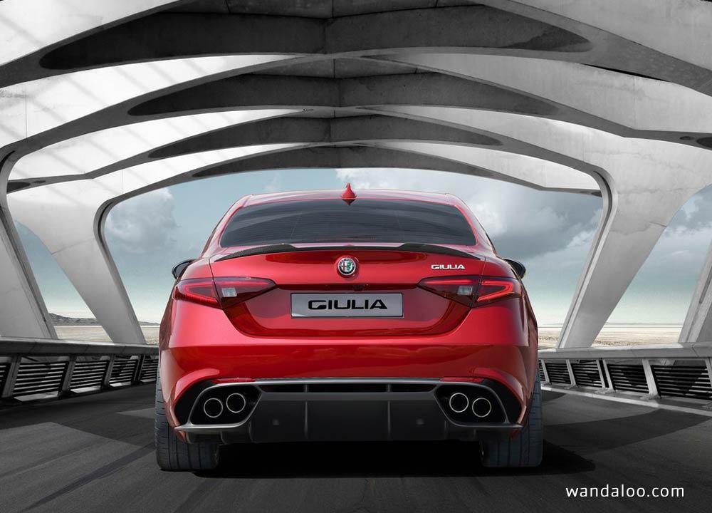 Alfa Romeo Giulia 2016 - les premières photos
