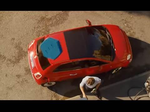 Fiat 500X - la pilule bleue