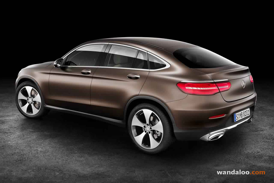 Mercedes GLC Coupé 2017