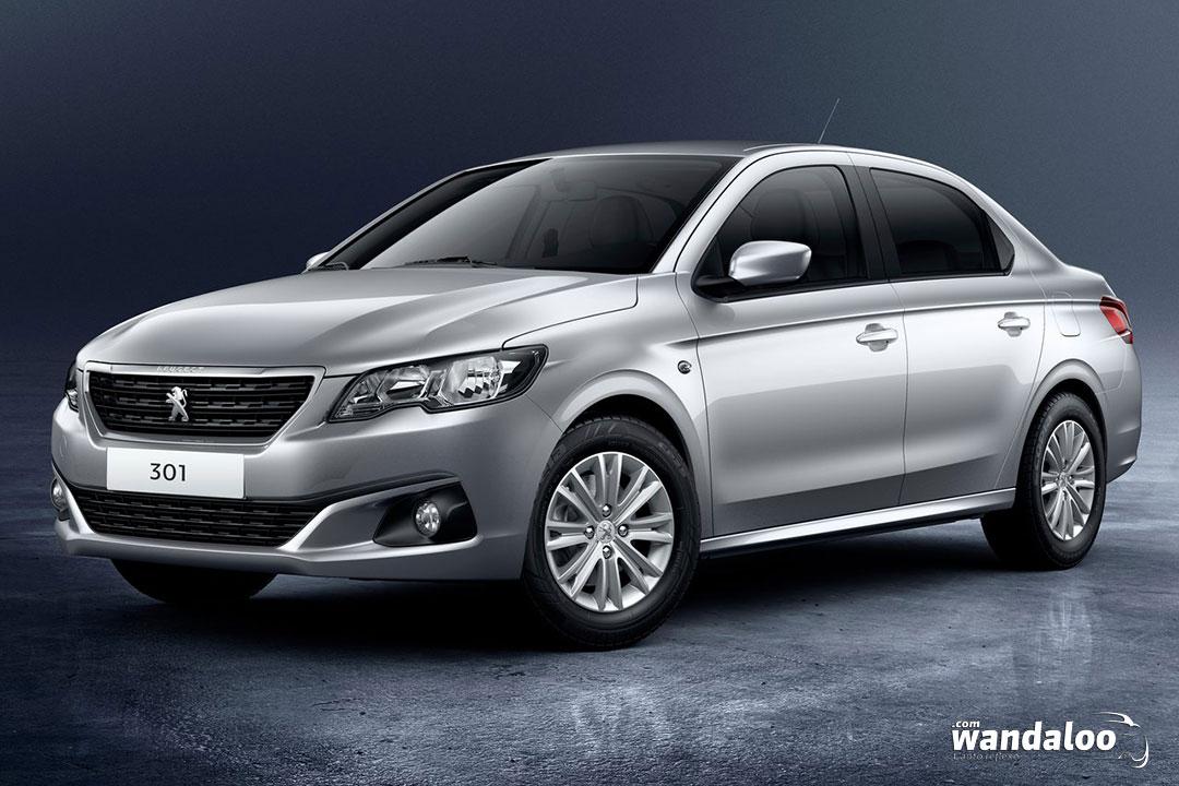 Peugeot 301 2017 facelift