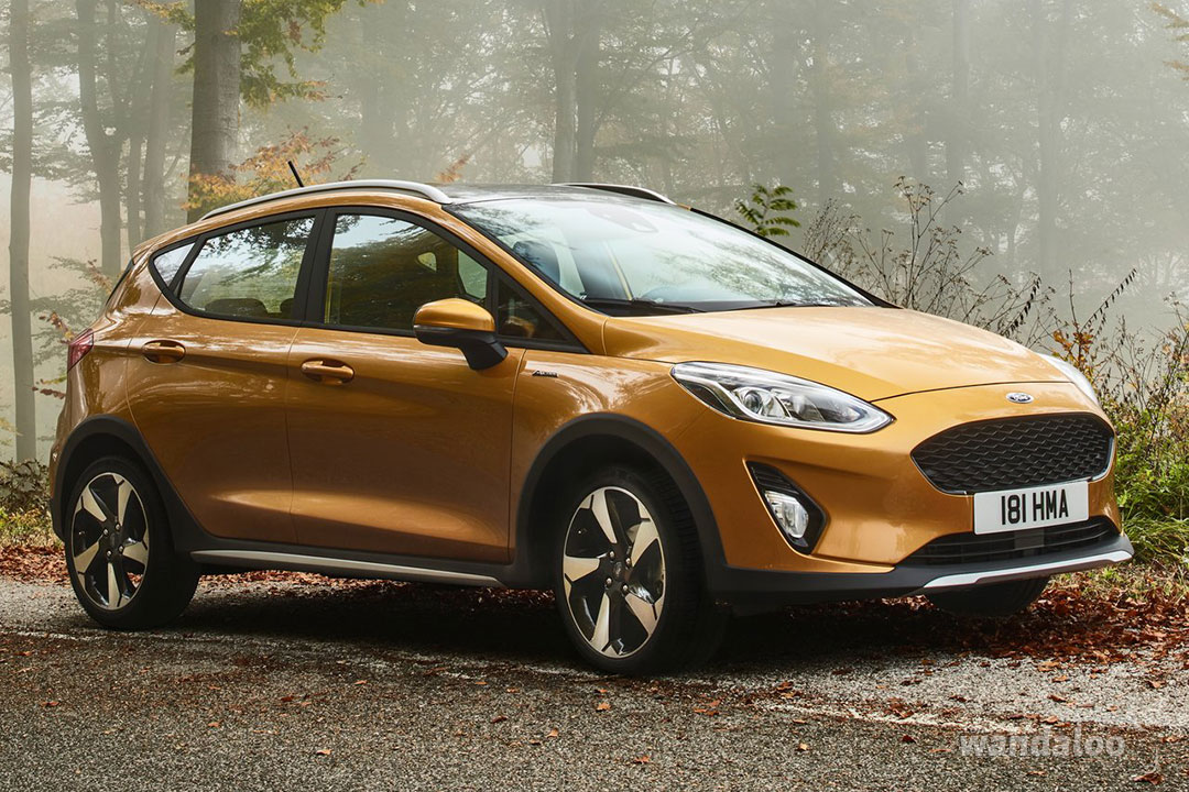 Nouvelle Ford Fiesta Active 2017