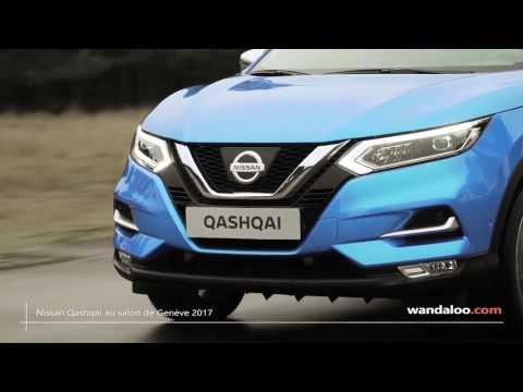 Nissan Qashqai au salon de Genève 2017