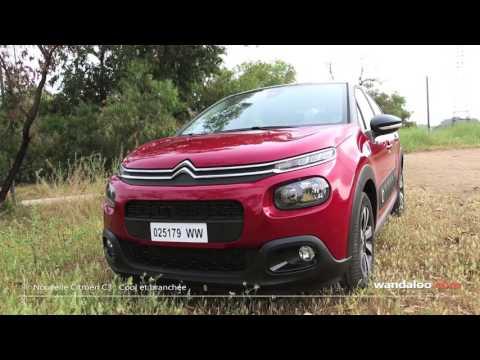 Essai de la 3ème génération de la Citroën C3