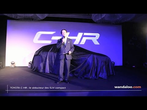 TOYOTA C-HR : lancement au Maroc