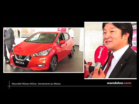 Lancement de la nouvelle Nissan Micra au Maroc