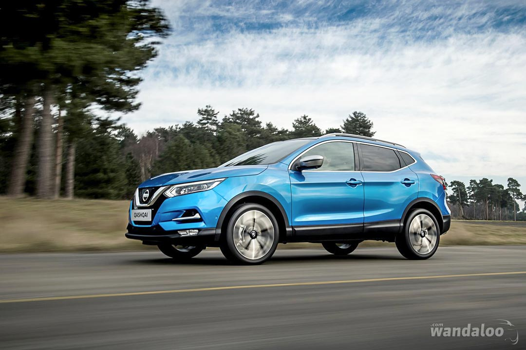 Nissan Qashqai 2018 en photos HD - wandaloo.com