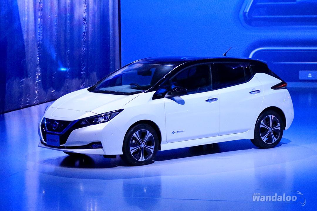 Première mondiale de la Nissan LEAF 2018