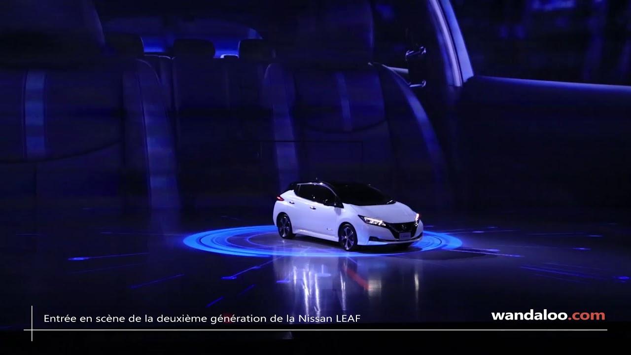 Entrée en scène de la nouvelle Nissan LEAF