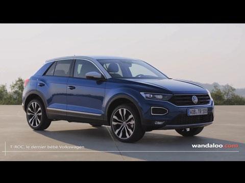 VW T-ROC 2018 - les premières infos