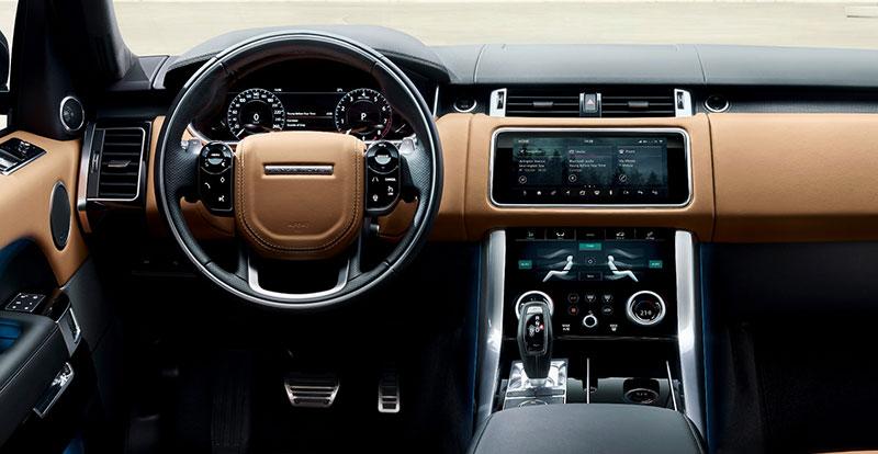 Le Range Rover Sport 2018 reçoit à son tour le nouveau système multimédia Touch Pro Duo