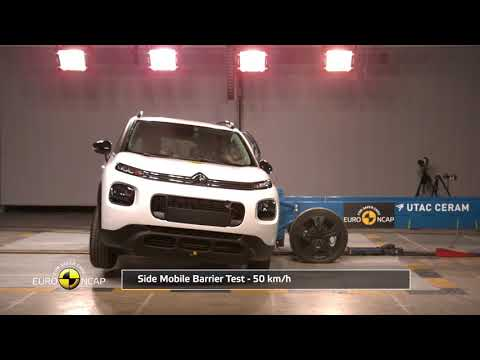 Crash-tests du Citroën C3 Aircross