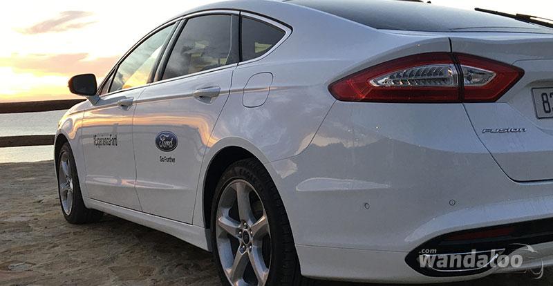 Ford Fusion, ou la berline « avaleuse » de bitume