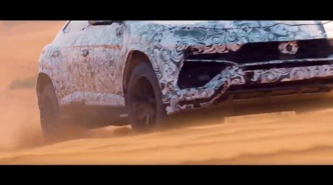 Lamborghini Urus 2018 en Teaser
