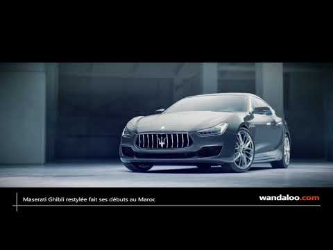 Maserati Ghibli 2018 introduite au Maroc
