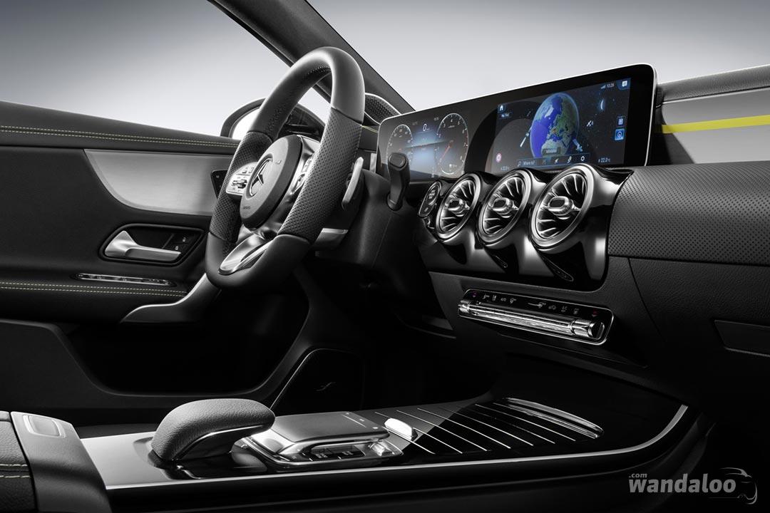 Habitacle de la Mercedes Classe A 2018